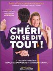 Theatre spectacle : CHERI ON SE DIT TOUT - LES 3T