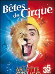 Theatre spectacle : CIRQUE ARLETTE GRUSS - CHAPITEAU ARLETTE GRUSS