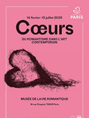 Theatre spectacle : COEURS. DU ROMANTISME DANS L'ART - MUSEE DE LA VIE