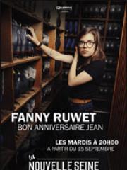 Theatre spectacle : FANNY RUWET - LA NOUVELLE SEINE
