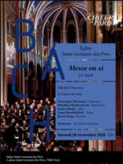 Consulter les détail du spectacle : JS BACH - MESSE EN SI - EGLISE SAINT GERMAIN DES P126470