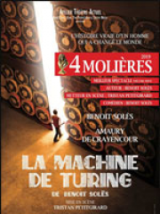 Theatre spectacle : LA MACHINE DE TURING - THEATRE DE YERRES CEC