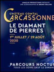 Theatre spectacle : LE DIAMANT DE PIERRES - CHATEAU COMTAL