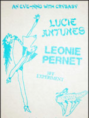 Theatre spectacle : LEONIE PERNET + LUCIE ANTUNES - LA BOULE NOIRE