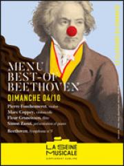 Consulter les détail du spectacle : MENU BEST OF BEETHOVEN - La Seine Musicale127405