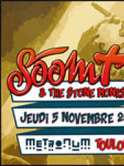 Theatre spectacle : SOOM T & THE STONE MONKS - LE METRONUM