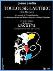 Theatre spectacle : TOULOUSE-LAUTREC CHEZ MAXIM'S - PETIT THEATRE DES