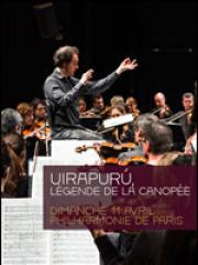 Theatre spectacle : UIRAPURU, LEGENDE DE LA CANOPEE - PHILHARMONIE DE