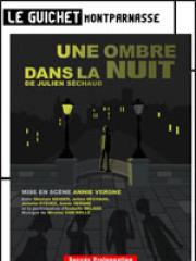 Theatre spectacle : UNE OMBRE DANS LA NUIT - LE GUICHET MONTPARNASSE