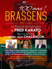 Theatre spectacle : 100 ANS BRASSENS - THEATRE DE L'ARDAILLON - VIAS