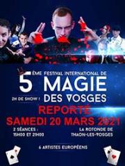 Theatre spectacle : 5EME FESTIVAL INTERNATIONAL DE MAGIE - LA ROTONDE
