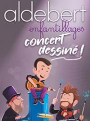 Theatre spectacle : ALDEBERT - CHAUDEAU - LUDRES