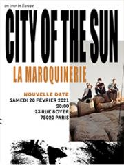 Theatre spectacle : CITY OF THE SUN - LA MAROQUINERIE - PARIS