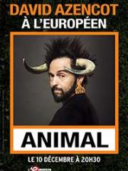 Consulter les détail du spectacle : DAVID AZENCOT - PENICHE EXCELSIOR - ALLONNES144775