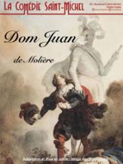 Consulter les détail du spectacle : DOM JUAM - COMEDIE SAINT-MICHEL - PARIS