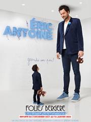 Consulter les détail du spectacle : ERIC ANTOINE - LES FOLIES BERGERE142756