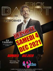 Theatre spectacle : ERICK BAERT : THE VOICE'S PERFORMER - LE PACBO - O