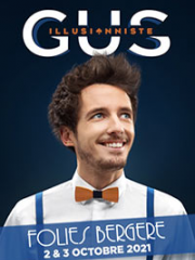 Theatre spectacle : GUS - LES FOLIES BERGERE