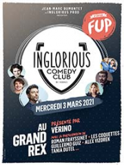 Consulter les détail du spectacle : INGLORIOUS COMEDY CLUB - LE GRAND REX - PARIS