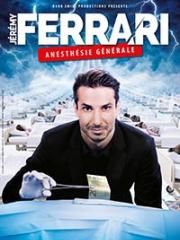 Theatre spectacle : JEREMY FERRARI - CASINO - ARRAS