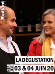 Theatre spectacle : LA DEGUSTATION - RADIANT - BELLEVUE