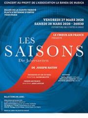 Consulter les détail du spectacle : LES SAISONS - HAYDN - EGLISE DE LA TRINITE - PARIS140872