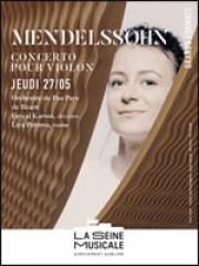 Consulter les détail du spectacle : MENDELSSOHN - CONCERTO POUR VIOLON - La Seine Musi138247