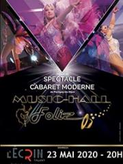 Consulter les détail du spectacle : MUSIC-HALL FOLIZ - L'ECRIN - TALANT140833