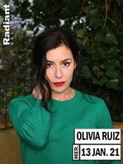 Theatre spectacle : OLIVIA RUIZ - RADIANT - BELLEVUE
