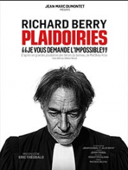 Theatre spectacle : PLAIDOIRIES - THEATRE DU CASINO - AIX LES BAINS