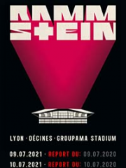 Theatre spectacle : RAMMSTEIN - GROUPAMA STADIUM