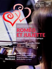 Consulter les détail du spectacle : ROMEO ET JULIETTE - THEATRE FEMINA - BORDEAUX141481
