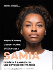 Theatre spectacle : SAMIA - DE PÉKIN À LAMPEDUSA - LE COLISEE