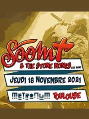 Consulter les détail du spectacle : SOOM T & THE STONE MONKS - LE METRONUM