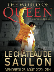 Theatre spectacle : THE WORLD OF QUEEN BY COVERQUEEN - PARC du Château