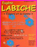 Theatre spectacle : Edgard et sa bonne | laurette th��tre