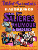 Theatre spectacle : FABRICE EBOUE LES SALIERES DE L\'HUMOUR