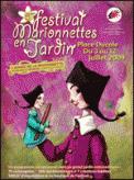 Theatre spectacle : FAIM DE LOUP MARIONNETTES EN JARDIN 2009