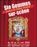 Theatre spectacle : FAITS DIVERS - CIE LIBRE ENVOL FESTIVAL STE GEMMES SUR SCENE
