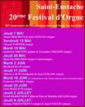 Theatre spectacle : ULRICH HERKENHOFF - MATTHIAS KELLER GRANDES ORGUES A SAINT- EUSTACHE