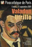 Theatre spectacle : VALADON - UTRILLO