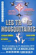 Theatre spectacle : Les trois mousquetaires