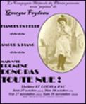 Theatre spectacle : N\'TE PROMENE DONC PAS TOUTE NUE