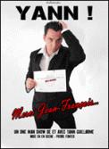 Theatre spectacle : YANN DANS MERCI JEAN FRANCOIS