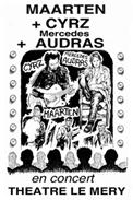 Theatre spectacle : Maarten + cyrz + mercedes audras