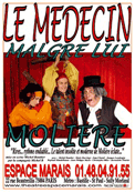 Theatre spectacle : Le m�decin malgr� lui