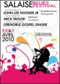 Theatre spectacle : SALAISE BLUES FESTIVAL - PASS 2  J VALABLE LES 9 ET 10 AVRIL 2010