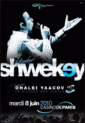 Theatre spectacle : YAAKOV SHWEKEY chante pour OHALE� YAACOV-Le Silence des Justes