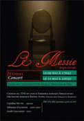 Theatre spectacle : HANDEL - MESSIE (LARGES EXTRAITS)