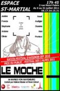 Theatre spectacle : Le moche � l\\\'espace st martial / festival d\\\'avignon
